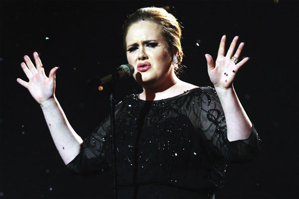 Adele finally speaks out about her son