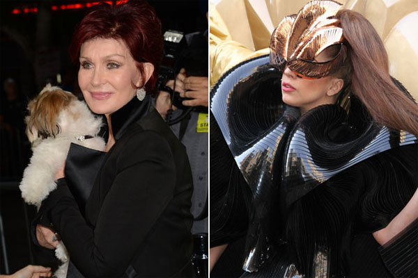 Sharon Osbourne takes her feud with Lady Gaga to TV