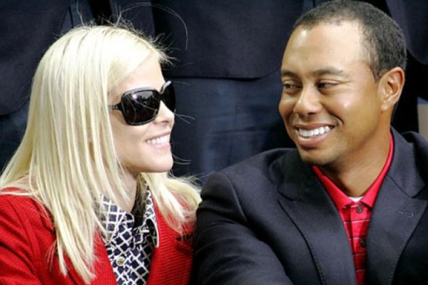 Tiger Woods is shagging his ex wife