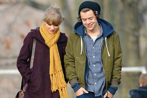 Taylor Swift jets to UK to try win back Harry Styles