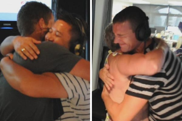 Hugs for Jay-Jay, Mike & Dom