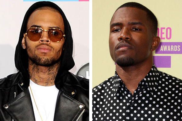 Did Chris Brown get into another punch up last night?