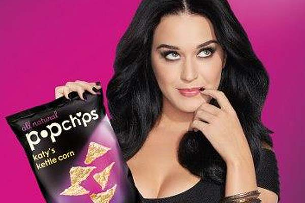 Katy Perry launches her own chips