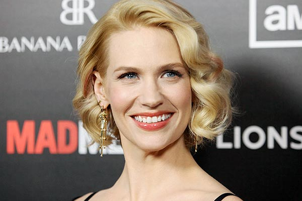 January Jones is losing her hair thanks to dye jobs