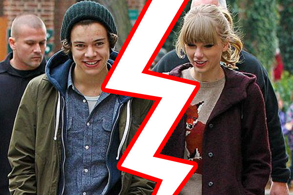 Taylor Swift &amp; Harry Styles split!