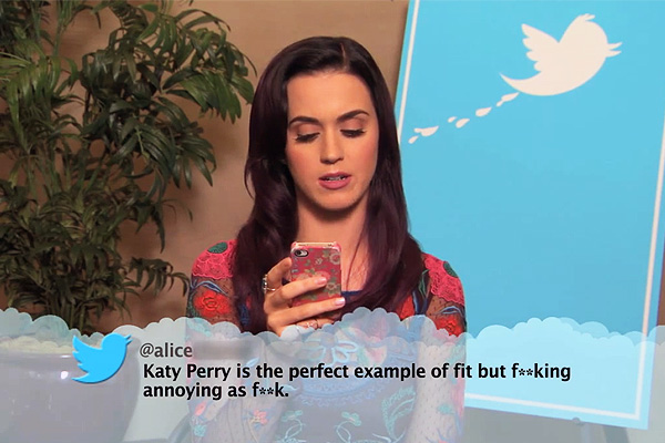 Music stars read mean tweets about themselves