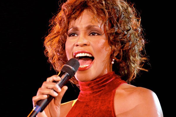 Whitney Houston's 'I Will Always Love You' named most popular love song