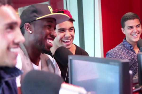 Titanium chat to Nova FM's Smallzy in Aussie