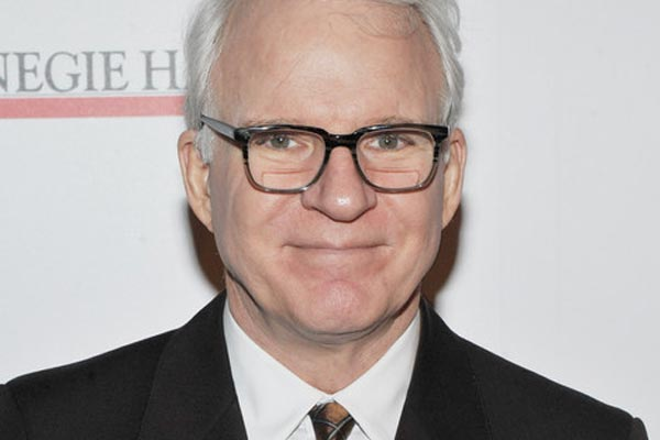 Aging actor Steve Martin is a first time dad