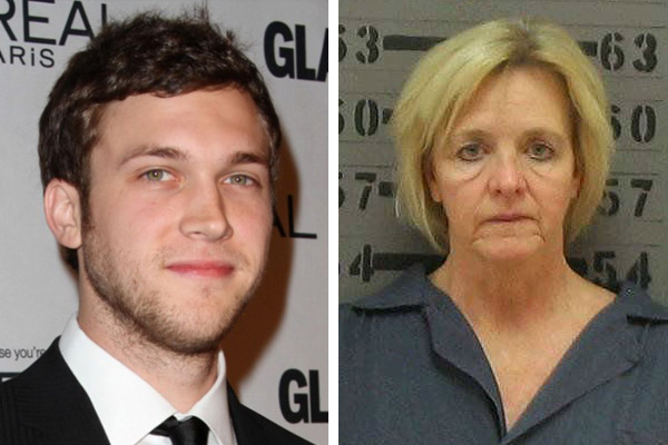 Phillip Phillips' mum arrested