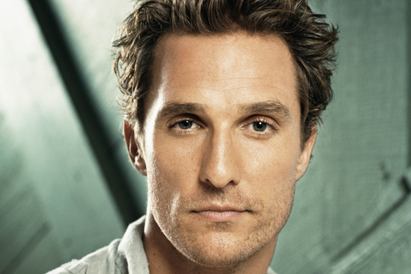 Matthew McConaughey's tips for great hair