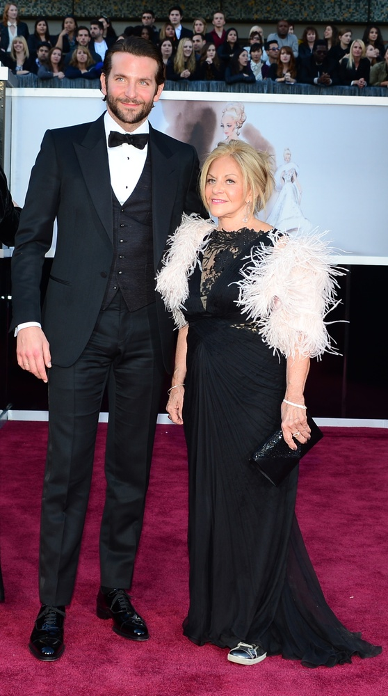 Bradley Cooper and his mum