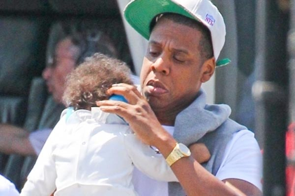 Blue Ivy is talking!