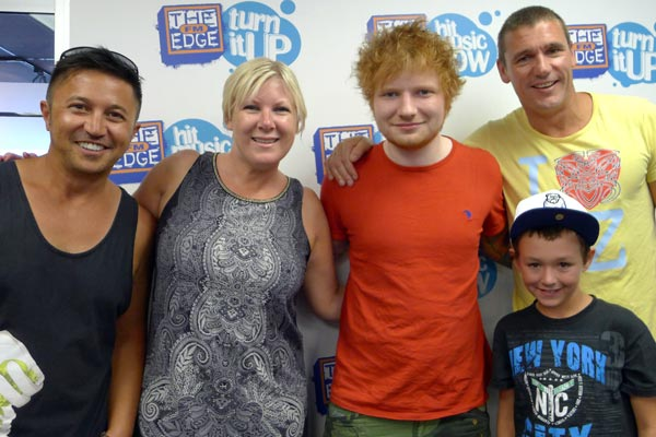 Ed Sheeran in studio with Jay-Jay, Mike &amp; Dom - the full interview