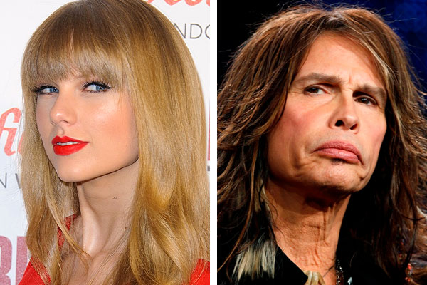 Guess which aging musician has a crush on Taylor Swift?