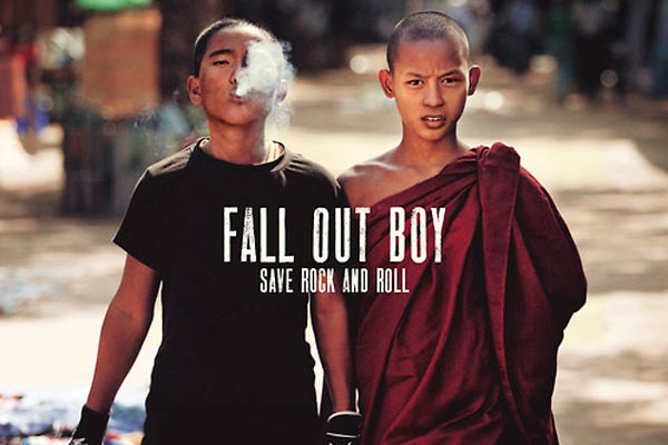 Fall Out Boy reveal 'Save Rock and Roll' album artwork