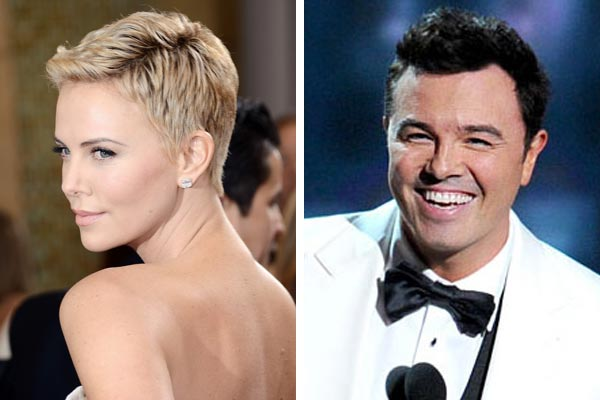 Charlize Theron & Seth Macfarlane Hollywood's newest couple?