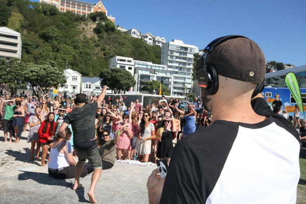 Fletch & Vaughan's Beach Bingo in Wellington