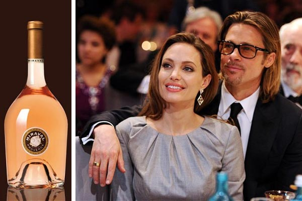 Brad and Angelina's wine goes on sale