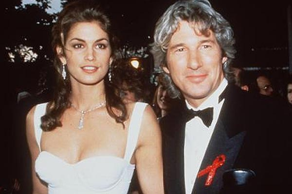 Why Cindy Crawford and Richard Gere spilt