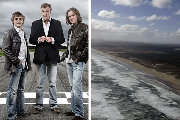 Top Gear filming in NZ next week