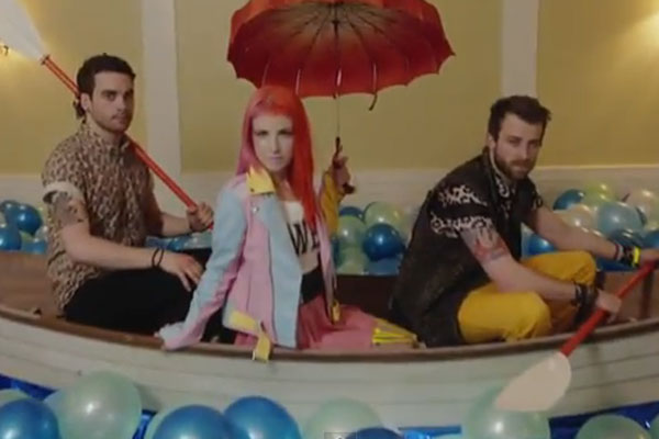 Paramore's new video for Still Into You