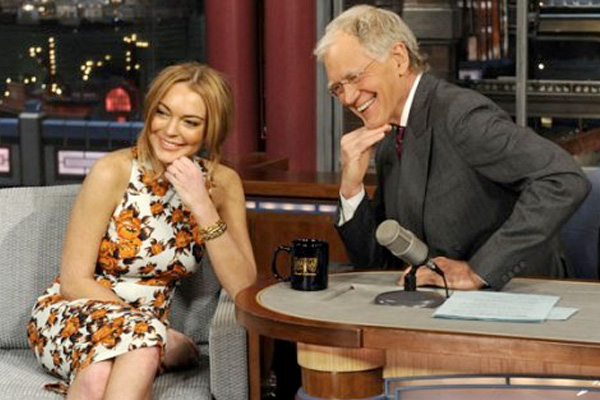 David Letterman &amp; Lindsay Lohan