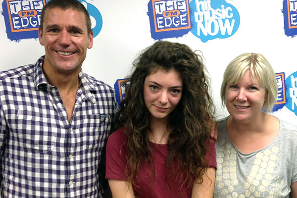 Lorde talks to Jay-Jay, Mike & Dom