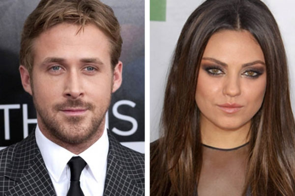 Ryan Gosling &amp; Mila Kunis