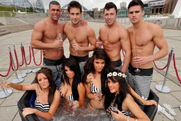 Two of the cast to leave Geordie Shore