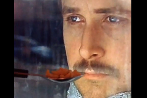 Ryan Gosling won't eat his cereal
