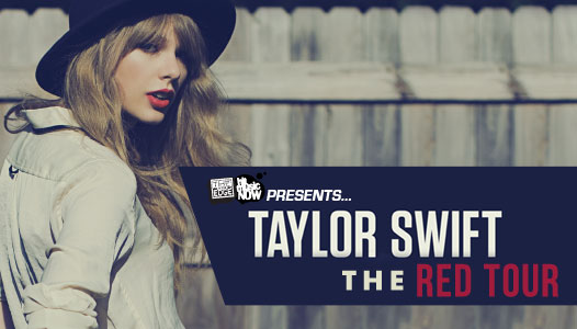 Second show on sale! - The Edge are SUPER excited to announce Taylor Swift is heading to our shores with THE RED TOUR. Presale tickets are on sale now, so get yours quick!
