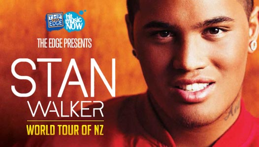 Stan live in NZ! - Stan Walker is hitting the road for 5 weeks, playing 25 shows from Invercargill to Whangarei! Listen to The Edge to win your tickets!