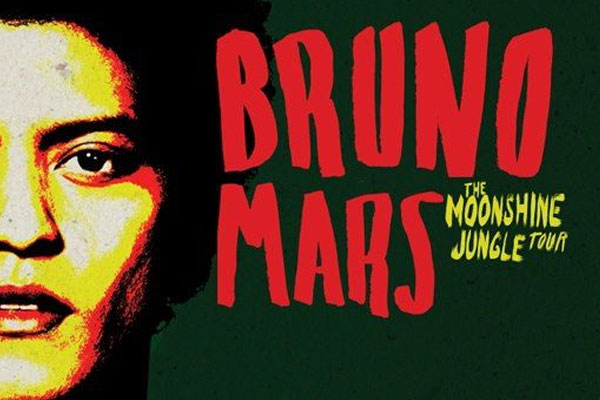 Win tickets to see Bruno Mars live in Auckland