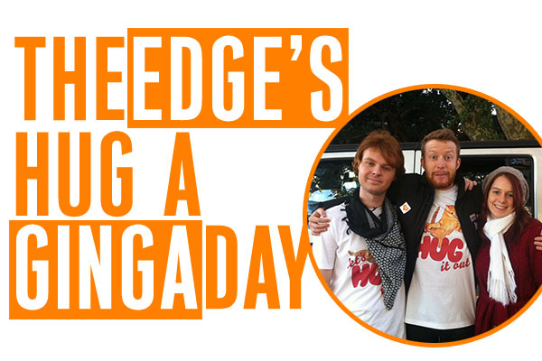 The Edge's Hug a Ginga Day 2013