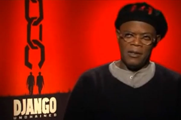 Samuel L. Jackson tries to get interviewer to say the N-Word
