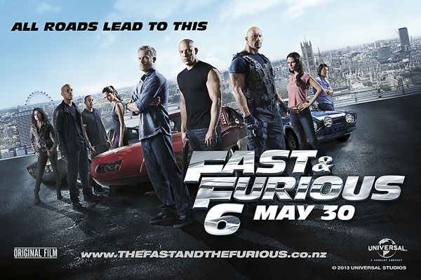 Win tickets to Fast &amp; The Furious 6