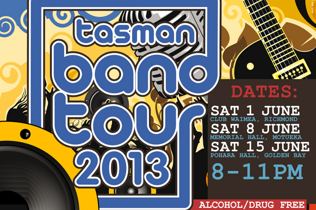 Tasman Band Tour 2013
