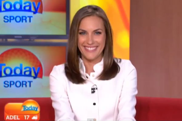 TODAY host Roz Kelly gets pranked