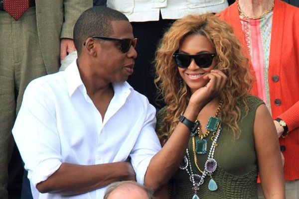 Jay Z puts the hard word on the baby rumours