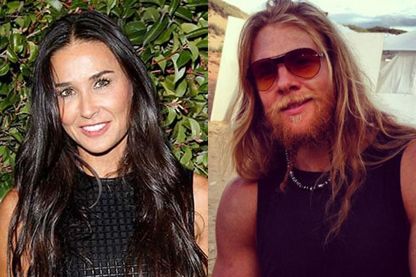 Demi Moore's new boyfriend has a pearl in his penis