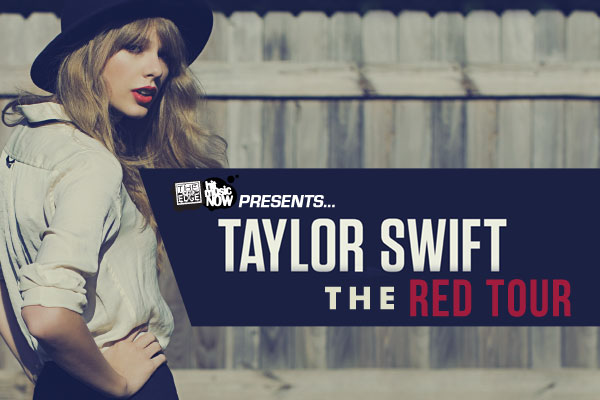 The Edge proudly presents Taylor Swift  with The Red Tour