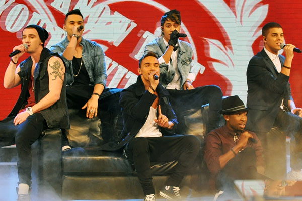 Titanium perform 'Tattoo' live on The X Factor NZ