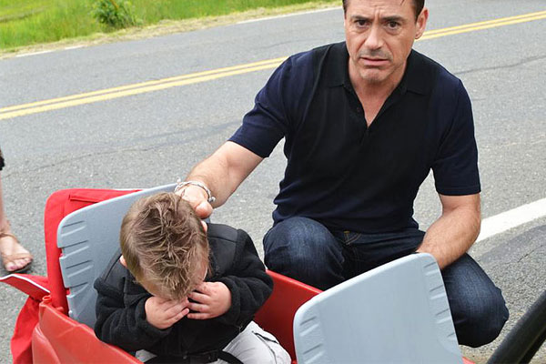 Robert Downey Jnr brings a toddler to tears