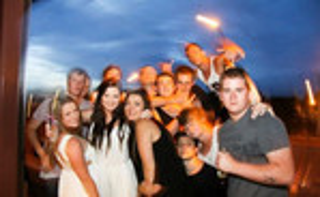 Party like a Geordie entries