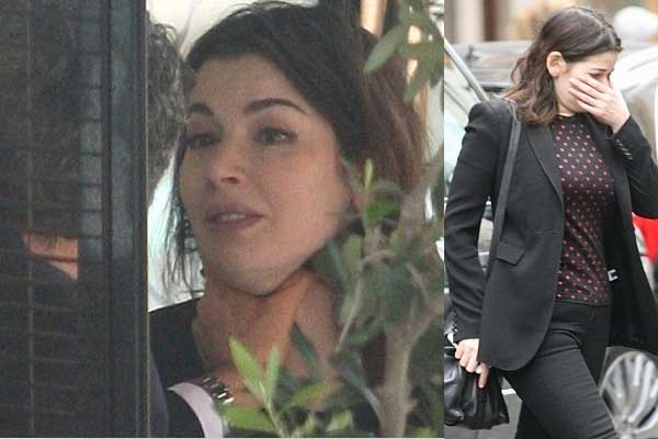 Nigella Lawson moves out of the home she shares with her husband