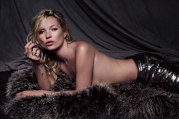Kate Moss to go nude for her 40th birthday in Playboy shoot
