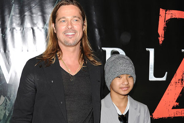 Brad Pitt's son stars in his movie 'World War Z'
