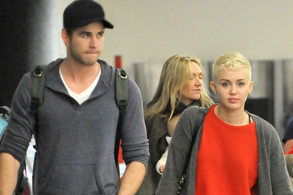 Miley Cyrus and Liam Hemsworth go on a date