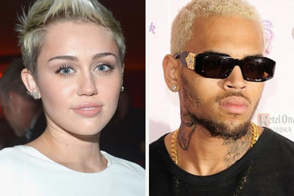 Chris Brown & Miley Cyrus named worst celeb role models